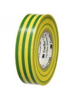 Изолента класс А желто-зеленая, 18ммх20м Simple