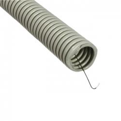 Гофро-труба Д=25 с протяжкой (50м)