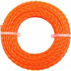 Леска для триммера ЗУБР круг д. 2,4мм длина 15м